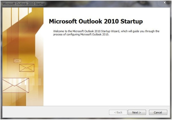 If this is the first time setting up Outlook to connect to Exchange